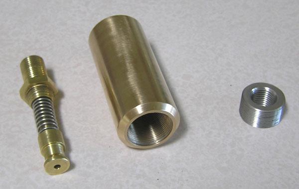 Hammer Spring Assembly, Barrel Chamber Reinforcement Bushing & Threaded Adapter