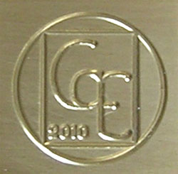 GarE Logo and Date